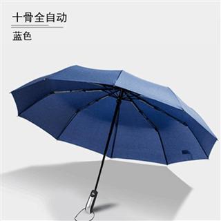 云朵花 全自动碰击布商务晴雨伞