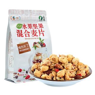 中粮山萃坚果水果混合烤燕麦片681g/袋装