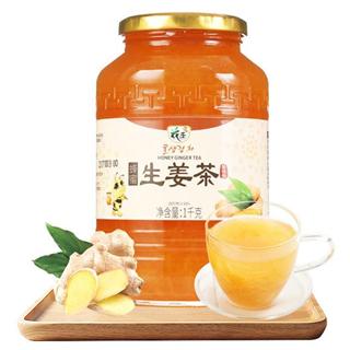 花圣蜂蜜生姜茶1000g 水果酱大姨妈茶月经姜茶老姜汤冲泡水喝饮品