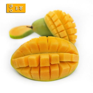 【现摘-四个工作日内发货】越南玉芒5斤装 进口青皮芒果