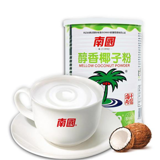 海南特产年货南国醇香速溶椰子粉450g*2罐营养早餐代餐粉椰奶椰子粉