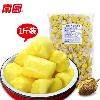 海南特产年货 南国特浓榴莲糖1000g散装软奶糖喜糖零食
