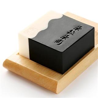 朵拉朵尚手工皂加工竹炭皂去黑头洗脸洁面皂冷制手工香皂