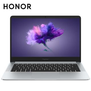 荣耀MagicBook 14英寸轻薄窄边框笔记本电脑(i5-8250U 8G 256G MX150 2G独显 FHD IPS 正版Office)冰河银