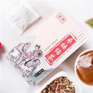 枣睡绵茶百合酸枣仁茶助神茶睡得好睡眠香养生茶160g   2盒装