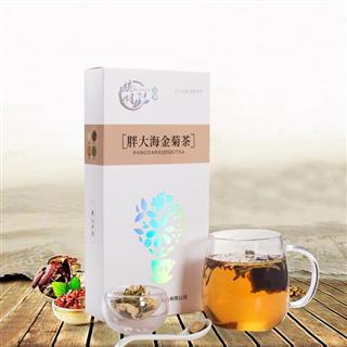 胖大海金菊茶润喉金嗓子胖大海茶金银花贡菊组合茶养生茶100g/盒  2盒装