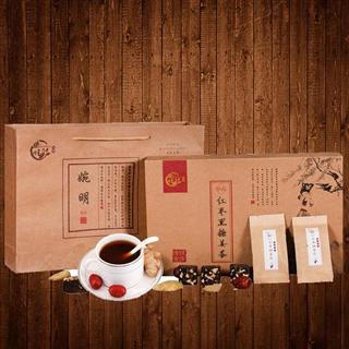 红枣黑糖姜茶姜汤大姨妈养生茶速溶姜汁水黑糖袋装姜枣茶460g