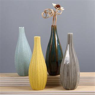 创意陶瓷精品花器 桌面装饰家居摆件