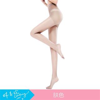 宝娜斯15D防勾丝连裤袜5条装 超薄款透明隐形黑肉色